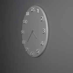 Front around the clock, the new wall clock designed by the Swedish Front for Porro.
