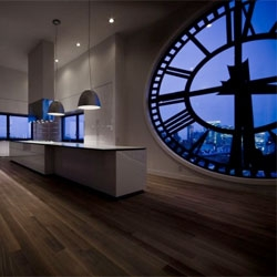 Gorgeous kitchen in Brooklyn's Clock Tower by Minimal.