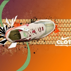 Format Mag releases a set of sneaker wallpapers for 2007. Designed by Kaya Thomas.