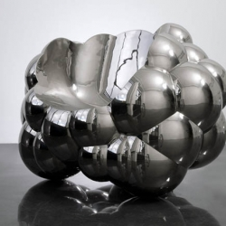 amazing cloud chair by richard hutten made from cast aluminum