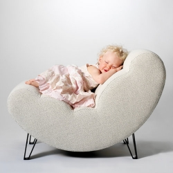 Now you can sit on a cloud, thanks to Design House Stockholm! This is Cloud Chair by Lisa Widen.