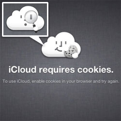 Love the cloud guys on the various iCloud error pages