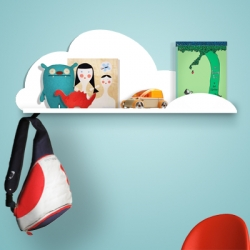 Super cute Cloud Shelf!