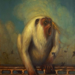 NEW SHOW at CoproNason Gallery with artworks by Martin Wittfooth (above), Michael Page, Travis Louie, Kris Lewis and Chris Peters. Previews are up!