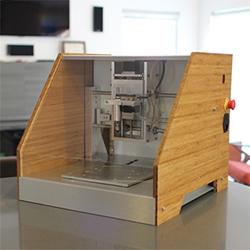 The Nomad Desktop CNC Mill by Carbide 3D on kickstarter.