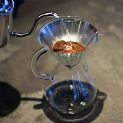 Coava Kone Stainless Steel Coffee Filter and Chemex Coffee Maker are gorgeous!