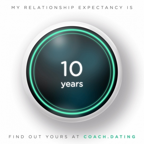 "Netflix has made a Black Mirror AI Coach App inspired by the ""Hang the DJ."" episode... where you and your partner can click simultaneously to get your Relationship Expectancy. It gets more exciting if one of you misses clicking... and it recalibrates..."