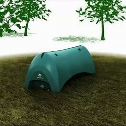 CobaltNiche has come up with H2POD, a drip feed system that offers constant irrigation for up to 48 hours to drought-stressed trees.