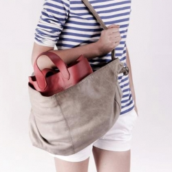 Heart of the Bag: a bag in a bag by Demoiselle Française.