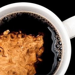 Coffee and Cream ~ Modernist Cuisine shares a little sneak peak of their upcoming book and some fun high-speed video of creamer hitting coffee.