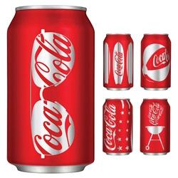 Coca-Cola unveils its hot new summer look.