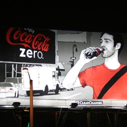 Another mega-corporation rips off an amazing artist... This time Coke  has shamelessly and underhandedly stolen the artistic style of Evan Hecox, an  artist unlike any other, to promote Coke Zero.