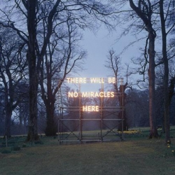 Amazing marquee text and light installations from UK artist Nathan Coley.