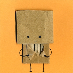 Silly webcomic by Philippa Rice about a cardboard man.