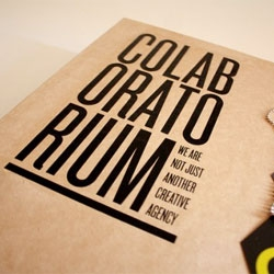 Colaboratorium, a collective of ten graduating design and marketing students. Lovely packaging design by Andrea Avidad.