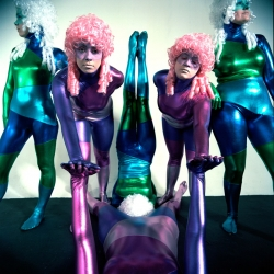 The Weird Girls Project is an ongoing art experiment created and produced by artist Kitty Von Sometime in Iceland. Participants don't know what they'll be doing or where, only when.