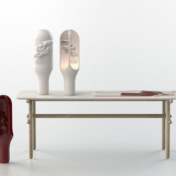 Favoris is the new collection created by Moustache for DuPont™ Corian®.