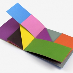 Colors, a book designed by Graphic Artist Antonio Ladrillo thats stares into Bruno Munari's soul.