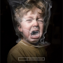 """""""Smoking isn't just suicide. It's murder."""" Very nice, effective, and powerful ads from advertising agency Draftfcb + IDB and creative director Rodrigo Gómez."""