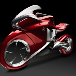 What you see is what you get. Or is it the other way round? The answer remains open. At least for the time being. Honda will present a V4 concept bike at INTERMOT in Cologne.