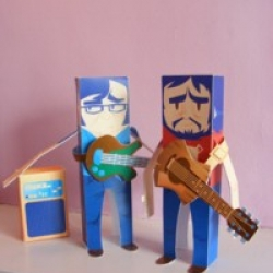 Download your very own paper Brett and Jemaine, along with Jemaine's amp, and recreate your favourite scenes from the funniest accapella digi-bongo comedy out there!