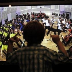 With Maestro, magneticNorth lets kids conduct an orchestra! Part of the recent Manchester International Festival.