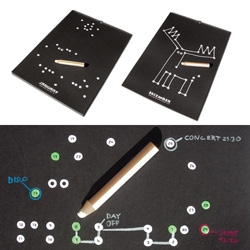 a connect-the-dots calendar.  i want one desperately.