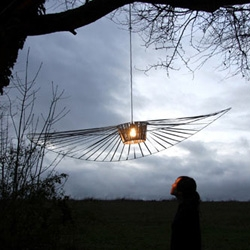 Vertigo lamp from Constance Guisset.