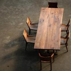 Richly minimal wood furniture and lighting from Brooklyn-based designer Palo Samko.