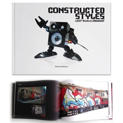 Construced Styles showcases the work of over 25 international artists and their stunning urban art sculptures, 3D-graffitis and room installations made from LEGO® Bricks.