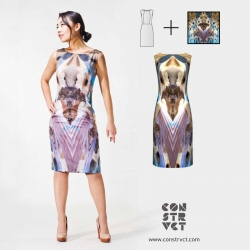 CONSTRVCT is an online fashion design studio, where you can create beautiful clothing designs from your photos.