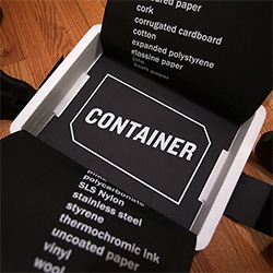 CONTAINER! Issue #1: HOT&COLD is here and it's not your usual magazine. This one is quite the magical styrofoam box of wondrous themed art pieces - all specially produced in limited edition for CONTAINER!