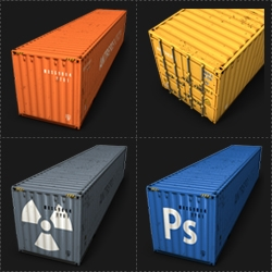 container culture products still goes on from a2591. Latest design thing is a container icon set. 40 container icons, Leopard & vista supported. Of course free of charge, download it, use it, share it.