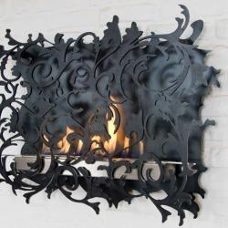 Fireplace by Redwitz. Do you like modern rokoko, or do you prefer a round one in steel?