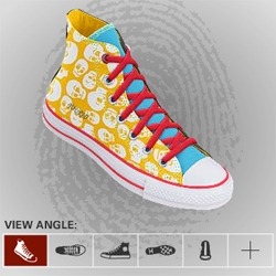 design (and order) your own chucks with Converse's interactive designer.