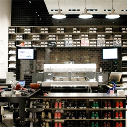 A new Converse store opens today in Soho, NYC.