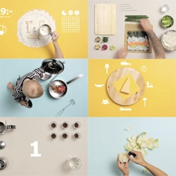 Ikea: The Art of Cooking adverts ~ an amazing follow up to the cookbook by Carl Kleiner! Think ninja cooking mama, meets sesame street, meets infographics, meets baby/pot remix. It's awesome!
