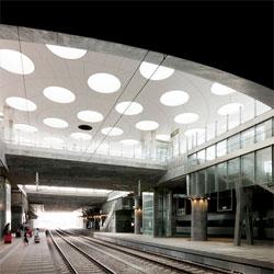 Station Hyllie by Metro Arkitekter.