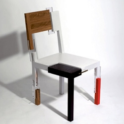 Limited edition CopyAndPaste chair by Sigurdur Gustafsson for Kallemo