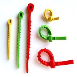 Q-Knot Reusable Rubber Zip Ties