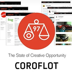 The now 15 year old Coroflot creative job hunting/portfolio site we all grew up with from the Core77 family just got a makeover!