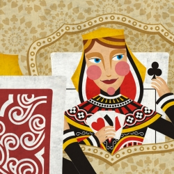 Cortejo is a beautiful brazilian animation about one playing card which is destined to be a queen. By Marilia Poggiali.