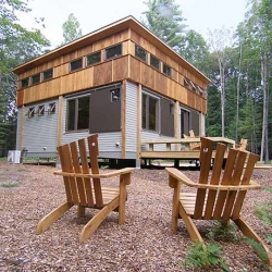 Prefab cottages for the woods!