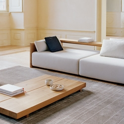 E15 Kashan Sofa ~ very interesting/clean minimalist... possibly comfy with the right cushions?