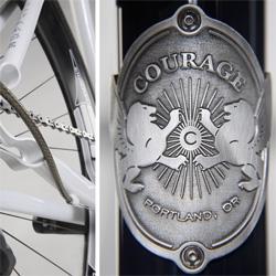 Beautiful bike portraits and custom bike craftsmanship in this photo series.