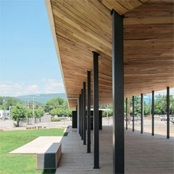 Covington Farmers Market by design/build LAB.