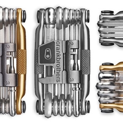 Probably the most beautiful bike tools available are the ones from Crankbrothers.