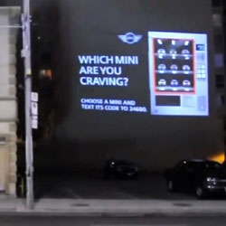 Mini: Vending machine projection - Awesome video, love the concept and execution