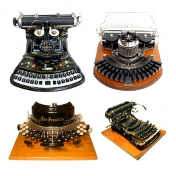 Ever wondered about all the keyboards that didn't make the cut? There were a lot more options than QWERTY, like the 1887 Automatic, 1906 New American, 1893 Blickensderfer and many others.