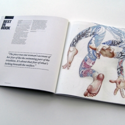 Watercolour illustrator Daniel Mackie wins Best in Book in the Creative Review Illustration Annual 2011.